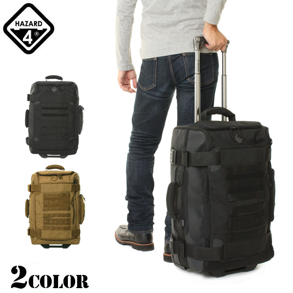 Carry bag [military bags, HAZARD4 hazard 4 AIR SUPPORT RUGGED ROLLING CARRY-ON two colors different from common, rough on the battlefield even active in the design of unique tactical military bags WIP military bag bags military