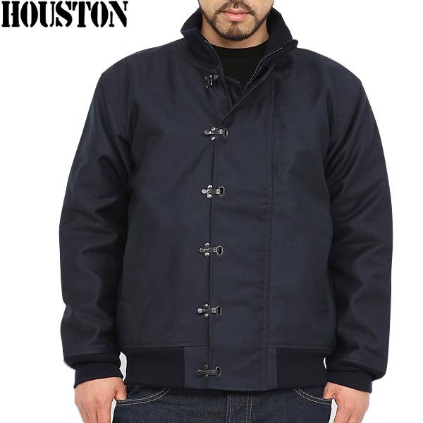지금은 오직 20% OFF에서 HOUSTON 휴스턴 U.S.NAVY N-10 갑판 켓 NAVY 바다 남자들을 사랑 한 해군 다용도 재킷 당시의 디테일을 충실히 재현 갑판 재킷 mss WIP 남성