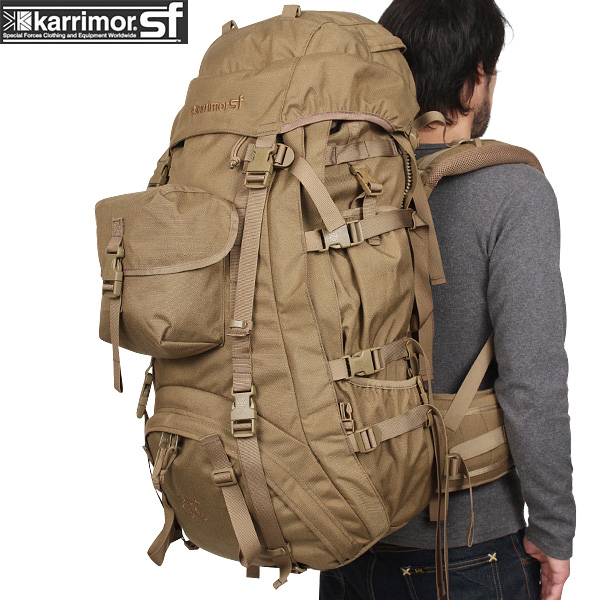 large capacity backpack karrimor SF karrimor special force Sabre 80-130 bags COYOTE long-term action is possible