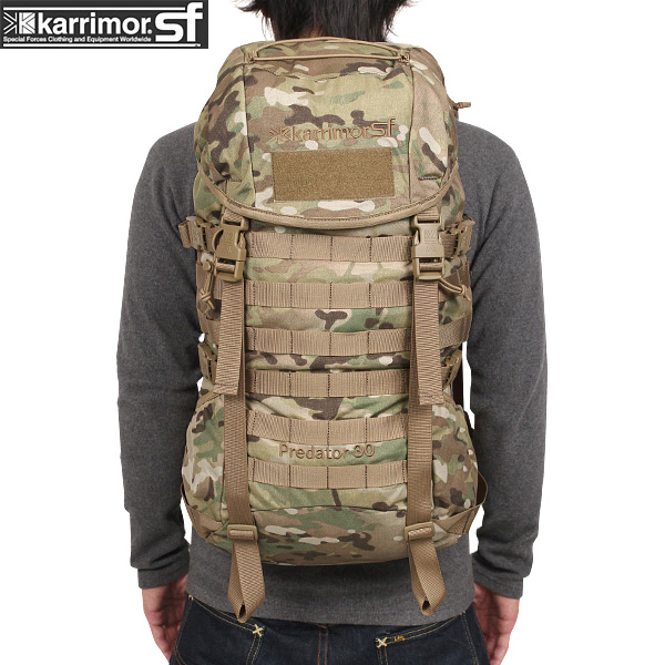 karrimor SF カリマー スペシャルフォース Predator 30 バッグパック Multicam 【Predator 30】 WIP メンズ ミリタリー アウトドア リュック バックパック ブランド 【Sx】 キャッシュレス 5%還元 新生活応援 衣替え 春