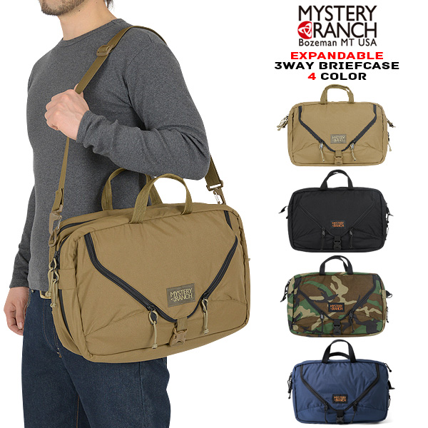 MYSTERY RANCH mystery Ranch 3WAY EXPANDABLE BRIEFCASE groundglass Threewave Briefcase four color 18 l ★ WIP mystery Ranch