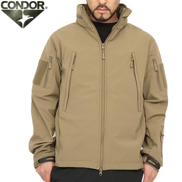 CONDOR コンドル 602 SUMMIT タクティカル ソフトシェルジャケット TAN タン ミリタリージャケット メンズ ジャケット ミリタリー サバゲー 服 WIP アウトドア 【クーポン対象外】 キャッシュレス 5%還元 新生活応援 衣替え 春