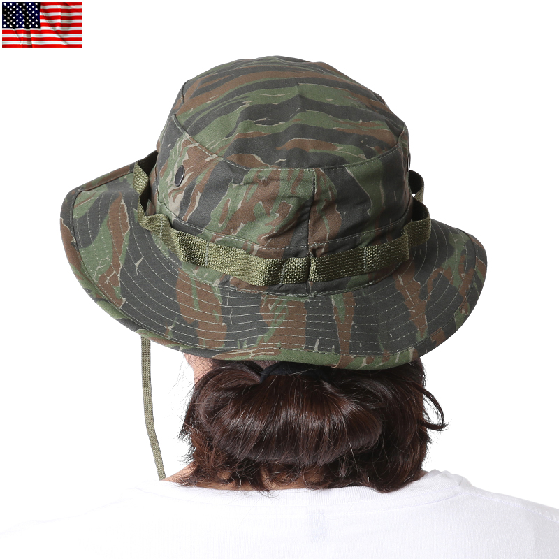 Boonie Hat brand new U.S. emission products MADE IN the USA Boonie Hat  TIGER STRIPE Boonie Hat ea5dfade966