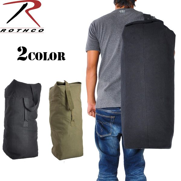 Rothco Top Load Canvas Duffle Bag 3336 64510e4971716