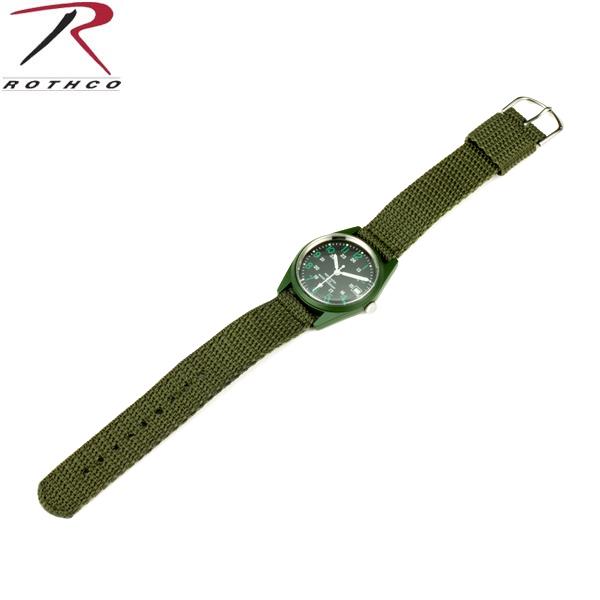 ROTHCO Rothko 4228 G. I. VIETNAM ERA TYPE O. D. WIND-UP WATCH watch watch mil-spec mil-spec MIL standard WIP ROTHCO Rothko