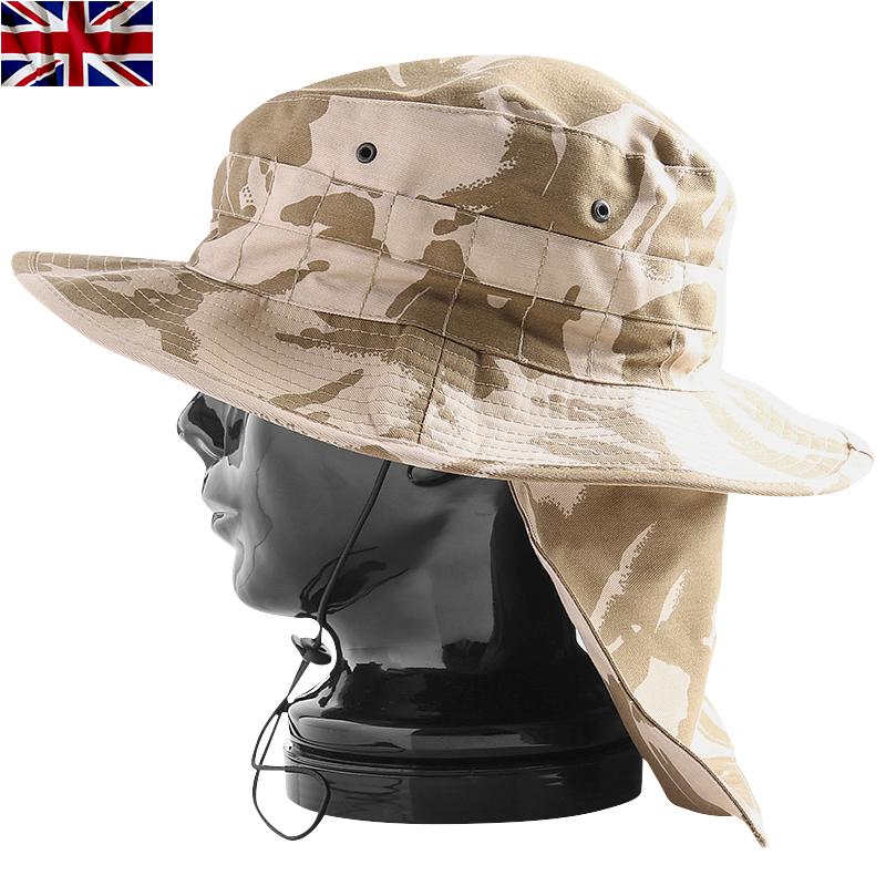 실물 신품 영국군트로피컬 하트 디저트 DPM 카모베르크로로 탈착 가능한 넥 커버가 붙어 있으므로 강한 햇볕으로부터, 피부를 지켜 주는 mss WIP 맨즈