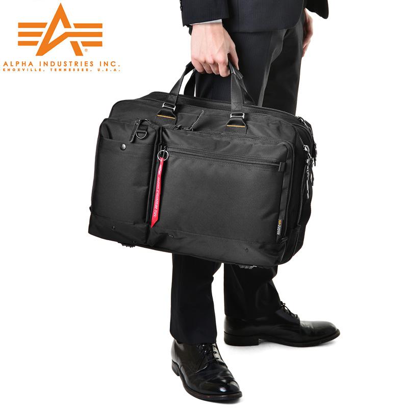 ALPHA アルファ 0495300 PC/タブレット対応 多機能 3WAY エクスパンダブル ビジネスバッグ LARGE WIP メンズ ミリタリー アウトドア