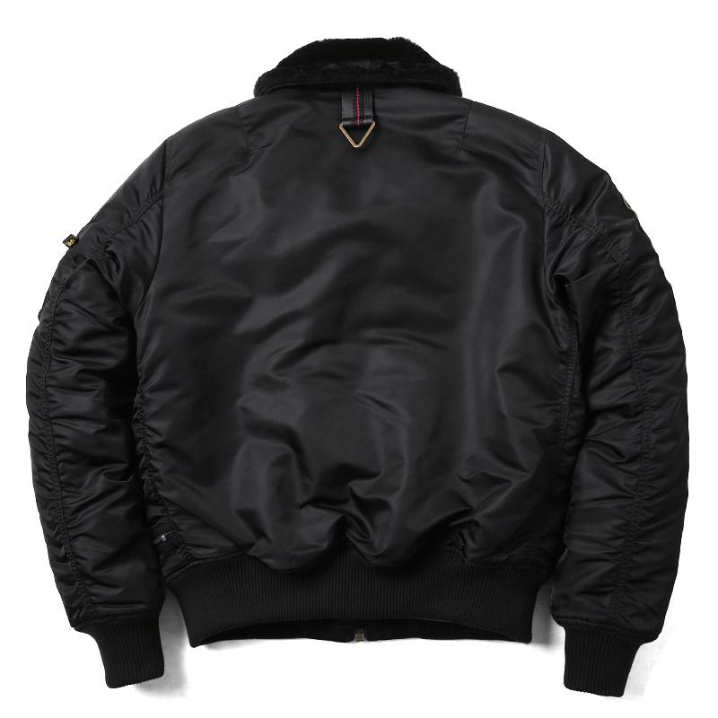 ALPHA INDUSTRIES 알파 인더스트리 TA0611 TIGHT INJECTOR 플라이트 재킷 맨즈 아우터 블루존 밀리터리 재킷 B-15 mss WIP