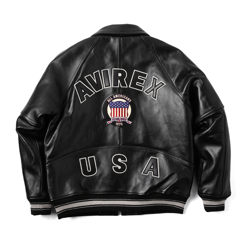 Military select shop WIP | Rakuten Global Market: VARSITY leather ...