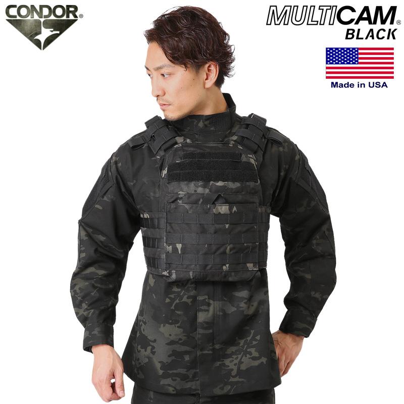 CONDOR コンドル US1020 Cyclone Lightweight プレートキャリア Multicam Black 【クーポン対象外】 WIP メンズ ミリタリー アウトドア【新生活 新学期 買い替えに】