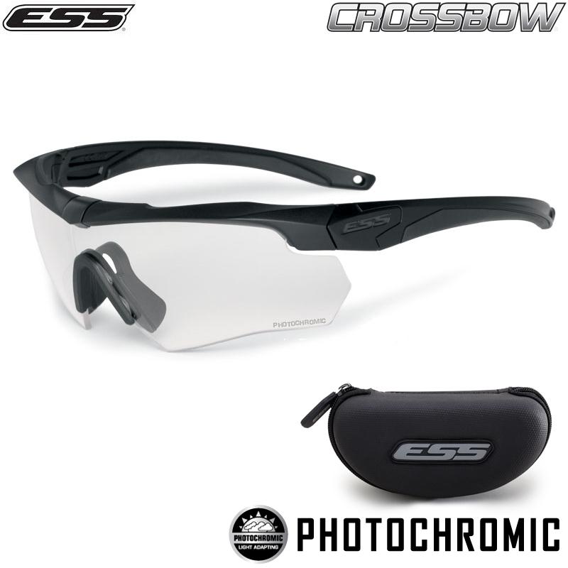ESS イーエスエス CROSSBOW Photochromic One Kit (調光レンズ) 【740-0546】 サングラス アウトドア・サバゲーに!高耐久で安心の品質。 WIP メンズ ミリタリー アウトドア 【Sx】【新生活 新学期 買い替えに】