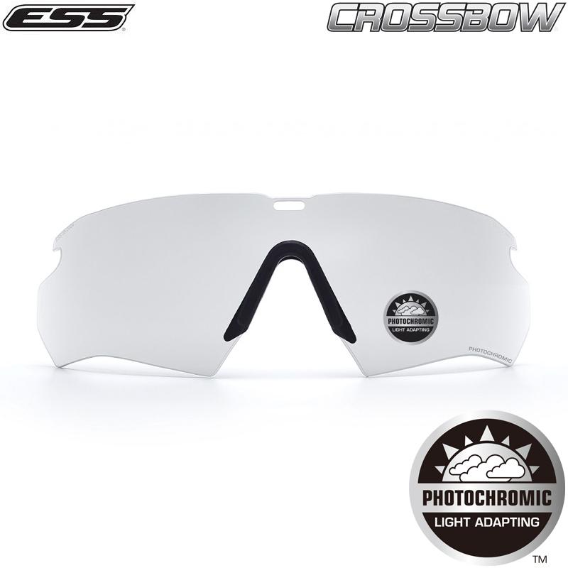 ESS イーエスエス CROSSBOW Photochromic 調光レンズ アウトドア・サバゲーに!高耐久で安心の品質。 WIP メンズ ミリタリー アウトドア 【Sx】 スポーツ キャッシュレス 5%還元 春 父の日