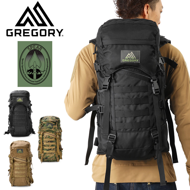 GREGORY Gregory SPEAR spear RUCK LZ LZ Lac military rucksack mss WIP mens