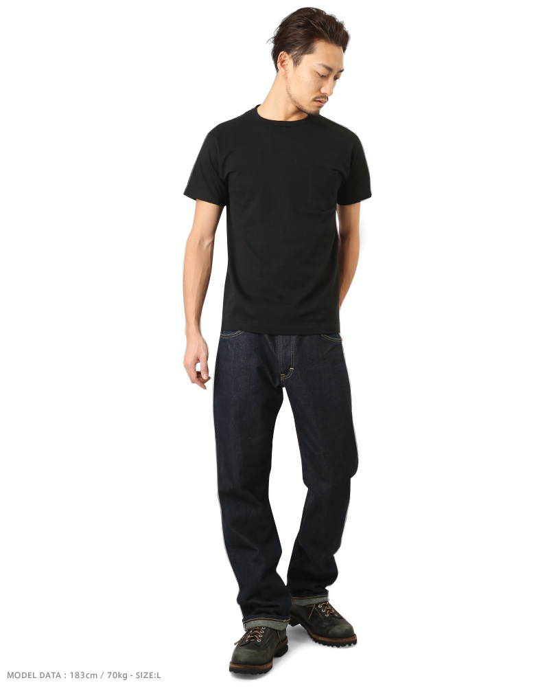 b97214225de9 ... 20% OFF ◇ Hanes Hanes HM1-F004 PREMIUM JAPAN FIT crew neck pocket T ...
