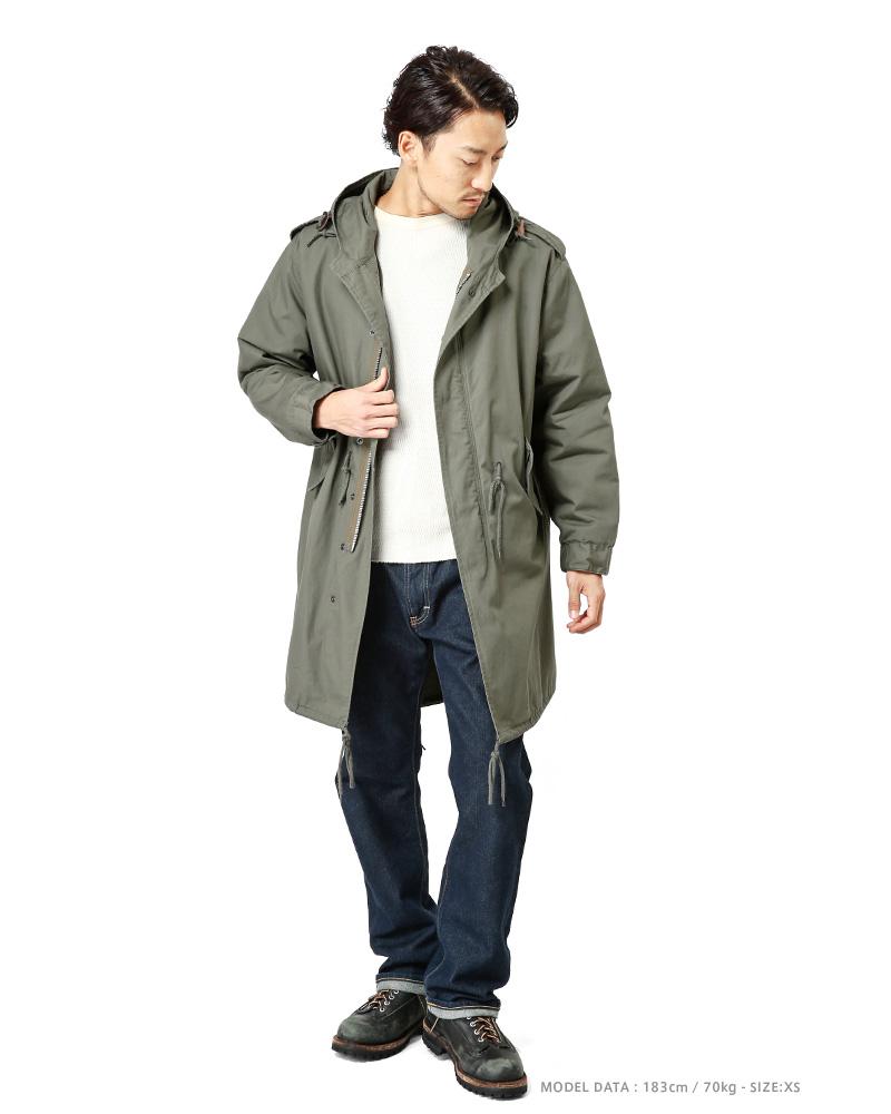 HOUSTON Houston m-51 parka mods coat OL military M51 coat m-51 coat m-51 parka M51 size replacement one free field jacket spring autumn/winter