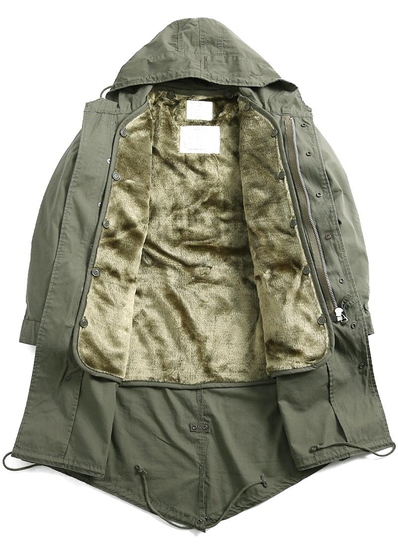 HOUSTON Houston m-51 parka mods coat military M51 coat m-51 parka size replacement one free field jacket BK