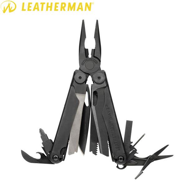 クーポン15%OFF◆LEATHERMAN レザーマン WAVE Black ウェーブ ブラック WIP メンズ ミリタリー アウトドア クリスマス プレゼント 記念