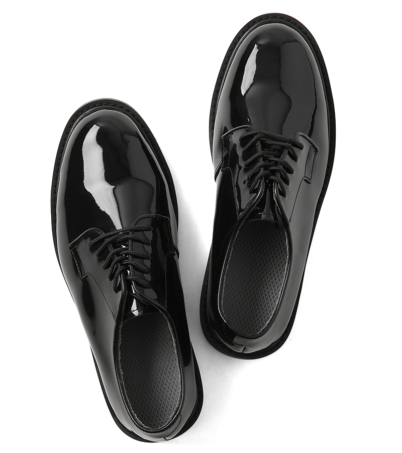 New U.S. U.S.ARMY officer shoes (oxfords) men's military service shoes business dress leather shoes leather replica reproduction BLACK black American army military compounds in the