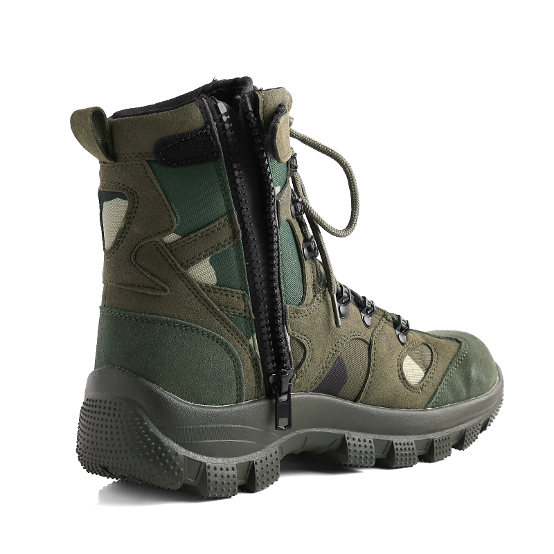 Sabage Boots brand new CONQUEROR TYPE tactical boots woodland military boots Camo mens sabage with military boots side dip sabage boots