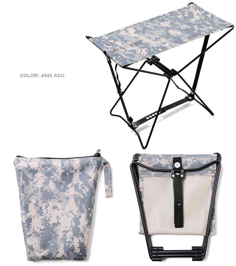 ROTHCO 로스 FOLDING CAMP 스툴 (의 자) 4 색 밀리터리의 자 휴대용의 자 접이식의 자의 자 야외 위장 カモフラ mss WIP 남성