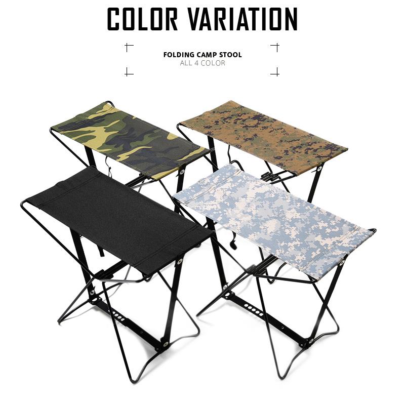 ROTHCO Rosco FOLDING CAMP Stool (Chair) 4 Color Military Chair Portable Chair  Folding