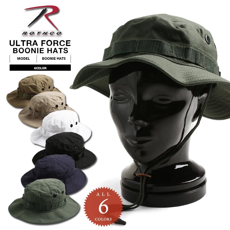 世界の人気ブランド ROTHCO ロスコ ブーニーハット BOONIE HAT ミリタリー 帽子 ハット WIP WAIPER T 今だけ15%OFF FORCE セール メンズ オープニング 大放出セール アウトドア SOLID スポーツ ULTRA