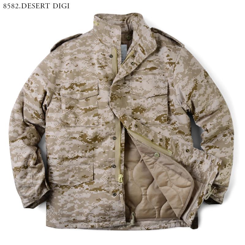 631a01158c5f3 ... 20% OFF ◇ ROTHCO Roscoe M-65 field jacket CAMO WIP men military outdoor