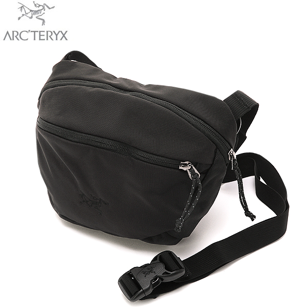 In both ARC ' TERYX Arc'Teryx MAKA 2 shoulder bag ALL BLACK waist bag and shoulder bag is available daily necessities to put enough big WIP