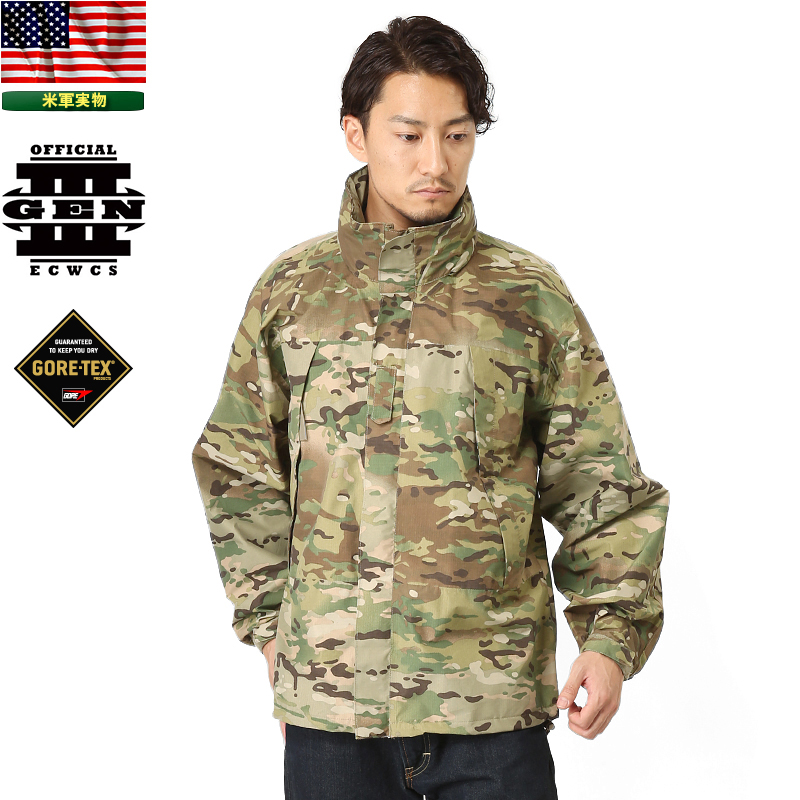 5641fd19787 Military life new US Army ECWCS GEN3 Level6 GORE-TEX jacket MultiCam men s  mss WIP