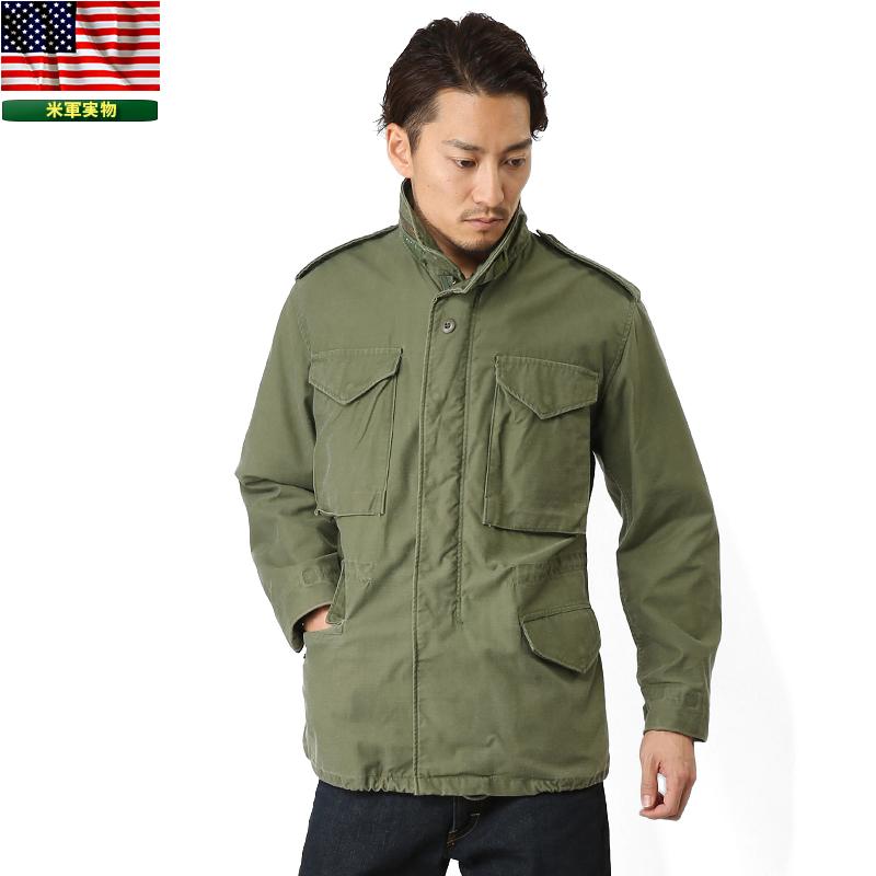 ミリタリージャケット 実物 米軍G.I. M-65フィールドジャケット USED WIP メンズ ミリタリー アウトドア 【クーポン対象外】