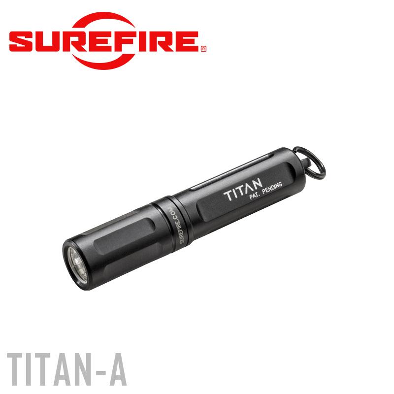 SUREFIRE シュアファイア TITAN Ultra-Compact Dual-Output LEDキーチェーンライト (TITAN-A) 125ルーメン ミリタリー 懐中電灯 フラッシュライト ハンドライト LED 防災 フラッシュライト 【クーポン対象外】 WIP メンズ ミリタリー アウトドア