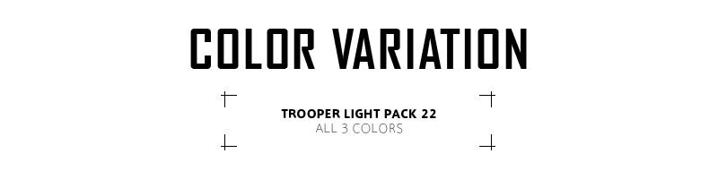 TASMANIAN TIGER 타스마니안타이가 TROOPER LIGHT PACK 22 트루 펄라이트 팩 22 밀리터리 배낭 백 팩