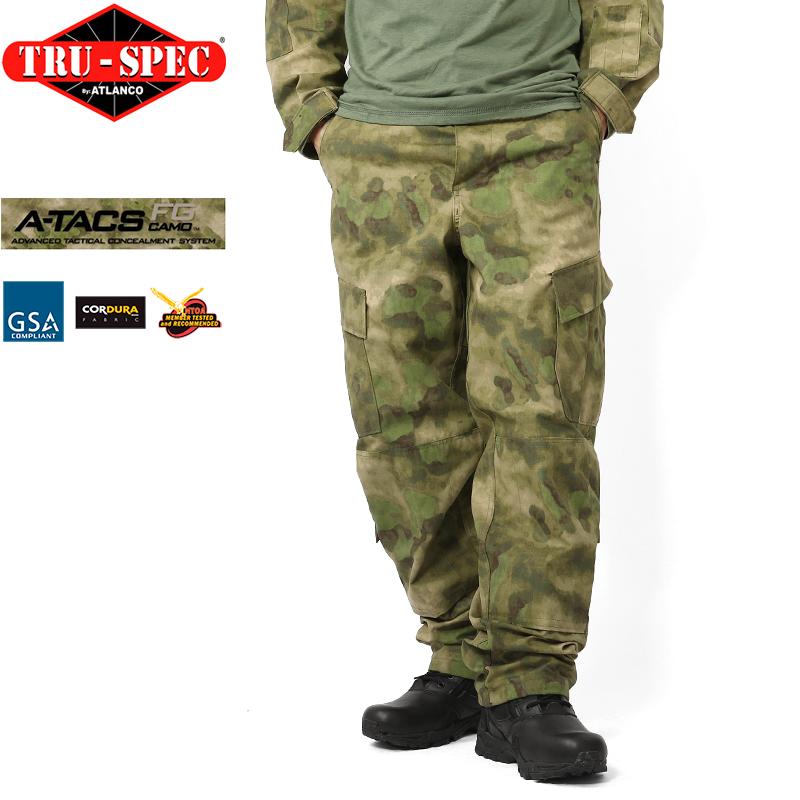 【あす楽】サバゲー 服 TRU-SPEC トゥルースペック Tactical Response Uniform パンツ A-TACS FG サバゲー 服 【クーポン対象外】 WIP メンズ ミリタリー アウトドア キャッシュレス 5%還元 新生活応援 衣替え 春