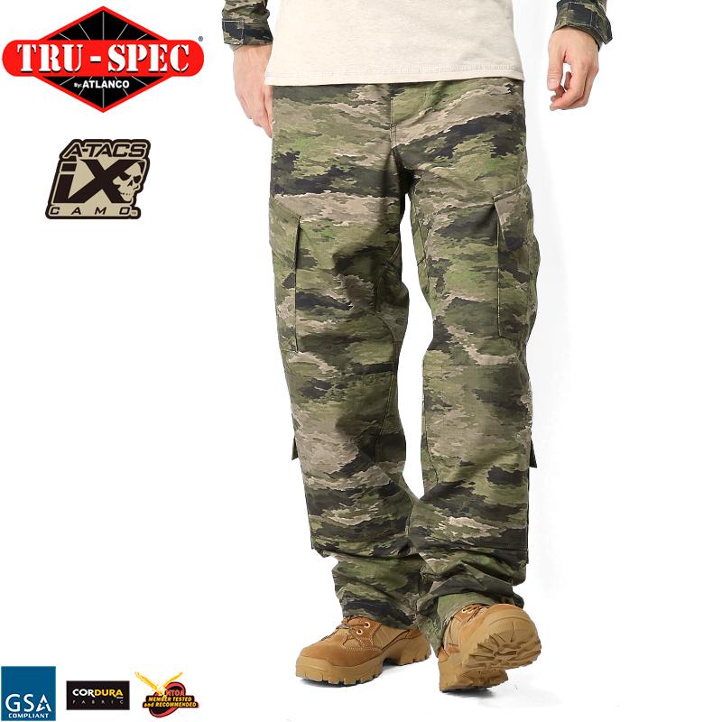 TRU-SPEC トゥルースペック Tactical Response Uniform パンツ A-TACS iX [1341] 【クーポン対象外】 WIP メンズ ミリタリー アウトドア【新生活 新学期 買い替えに】