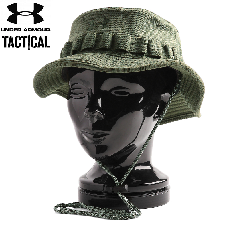 UNDER ARMOUR TACTICAL under armour tactical BUCKET Hat MARINE OD GREEN 22eb99ee333