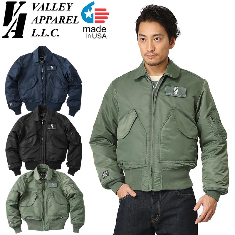 Valley Apparel valley apparel MADE IN USA CWU-45 P flight jacket military  jacket men 6e33731135