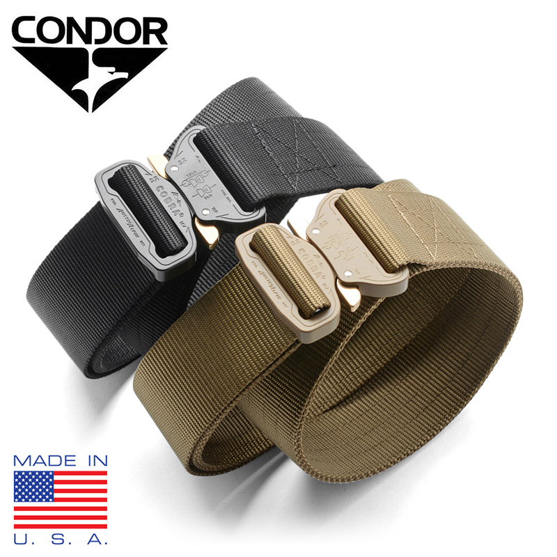 CONDOR コンドル US1078 COBRA タクティカルベルト MADE IN USA 【クーポン対象外】 WIP メンズ ミリタリー アウトドア