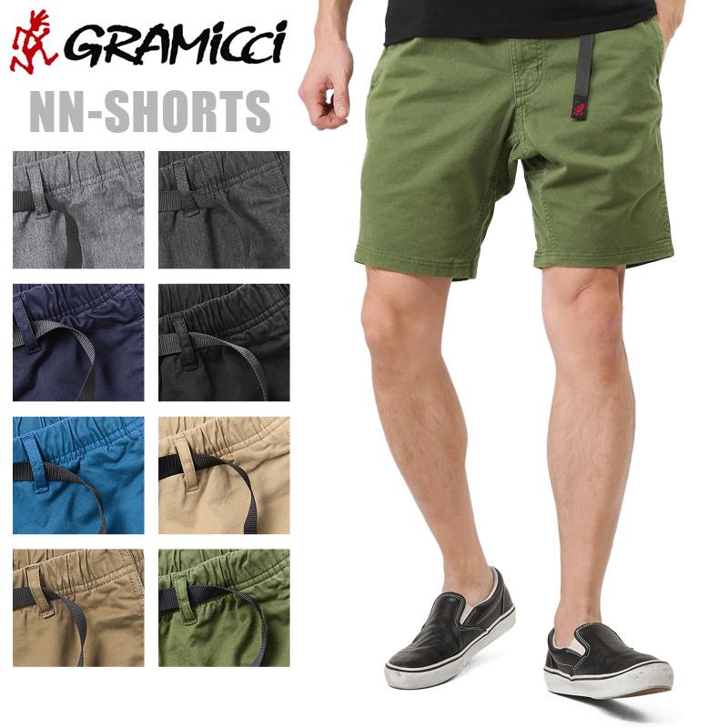 GRAMICCI グラミチ NN-SHORTS NNショーツ / ショートパンツ ハーフパンツ 短パン 動きやすい 膝上 WIP メンズ ミリタリー アウトドア クライミング【Sx】 キャッシュレス 5%還元