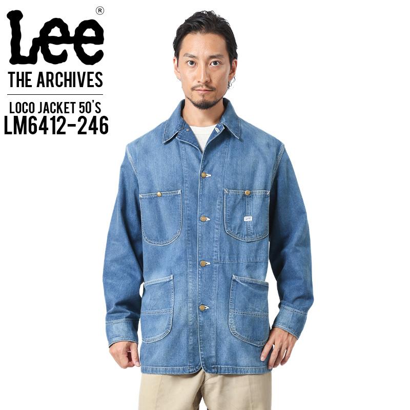 クーポンで最大15%OFF!Lee リー LM6412-246 ARCHIVES 50S 91J ロコジャケット 日本製 デニムジャケット WIP メンズ ミリタリー アウトドア ブランド 春 父の日