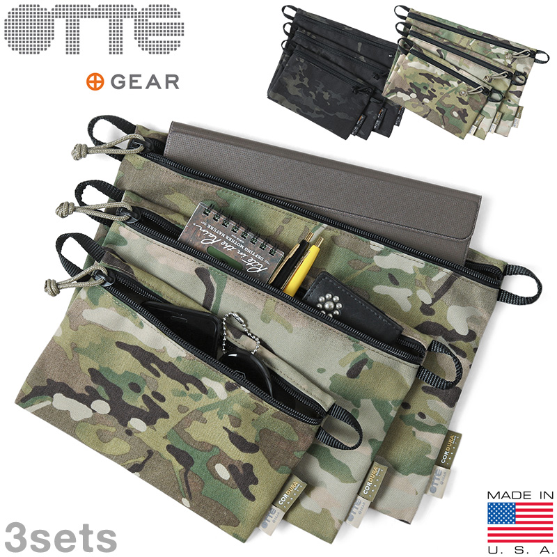 OTTE GEAR オッテギア OTTEAC001 Utility Pocket Set(ユーティリティ ポケット セット)MADE IN USA