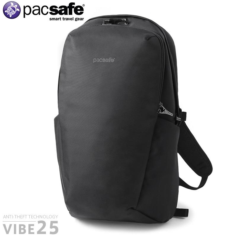 pacsafe パックセーフ 12970187 VIBE 25(バイブ25)バックパック【Sx】 WIP メンズ ミリタリー アウトドア リュック バッグ 【新生活 新学期 買い替えに】