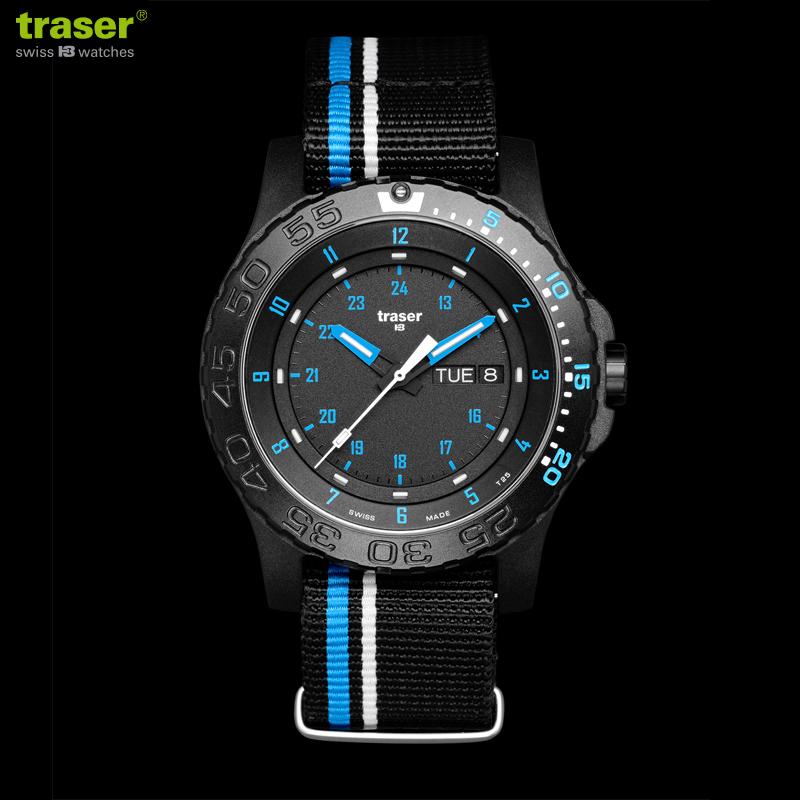 TRASER トレーサー MIL-G Blue infinity ミリタリーウォッチ 9031563 腕時計【クーポン対象外】【Px】 WIP メンズ ミリタリー アウトドア【新生活 新学期 買い替えに】