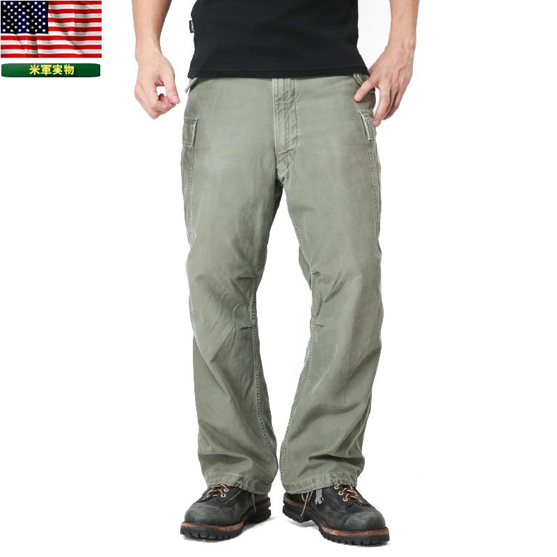 【あす楽】実物 米軍 M-51フィールドカーゴパンツ USED WIP メンズ ミリタリー アウトドア 【クーポン対象外】 キャッシュレス 5%還元 春 夏 父の日
