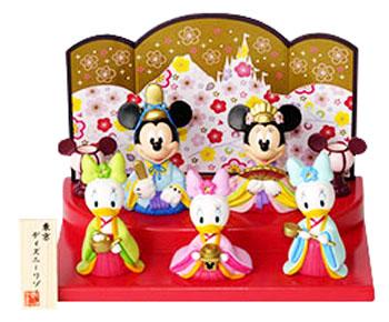 ミッキー 2020 ひな人形 雛人形 おみやげ 東京ディズニーリゾート