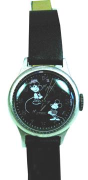 ディズニー ミッキー、ミニー柄腕時計 D23 EXPO JAPAN・2013 東京ディズニーランドリゾート
