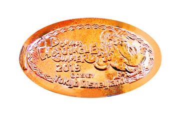 東京ディズニーリゾート スーベニアメダル ミニー 東京ディズニーランド スーベニアメダル ドナルドのホット・ジャングル・サマー