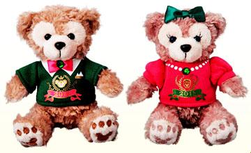 12月26日販売 ディズニーシー 2016ニューーイヤーダッフィー&シェリーメイのコレクションドール