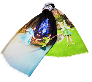 東京ディズニーリゾート フォトグラフィー・プロジェクト イマジニング・ザ・マジック ピーターパン  ストール