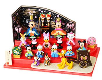 送料無料 即納 ギフト包装 雛人形 ディズニー 東京ディズニーリゾート 雛祭り ミッキーと仲間達のひな人形