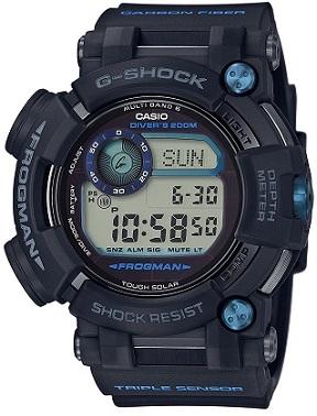 CASIO 腕時計 G-SHOCK フロッグマン 世界6局対応電波ソーラー GWF-D1000B-1JF メンズ